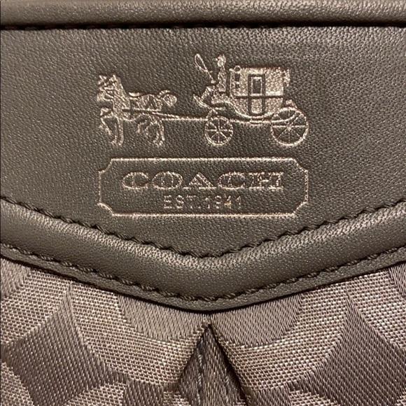 Coach Handbags - Coach Canvas Wristlet
